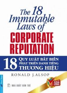 18 quy luật bất biến phát triển danh tiếng thương hiệu - Ronald J. Alsop