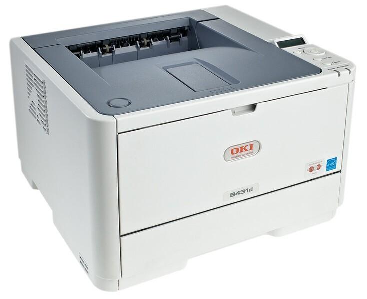 Máy in laser đen trắng Oki B431DN - A4