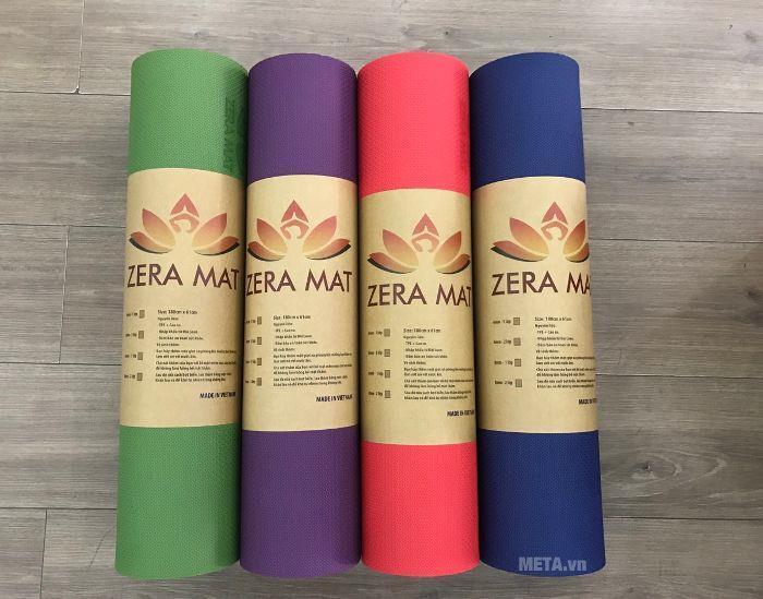 Thảm tập Yoga TPE Zera Mat 6mm