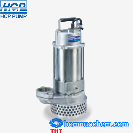 Máy bơm chìm hút nước thải Inox đúc HCP SS-05A 0.5HP (Inox 304) ...