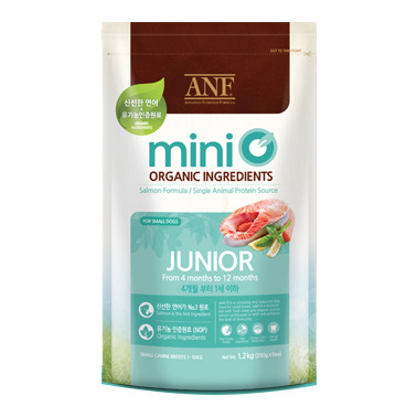Thức ăn hạt cho chó ANF Mini O Junior - 1.2kg, dành cho chó từ 4 tháng...