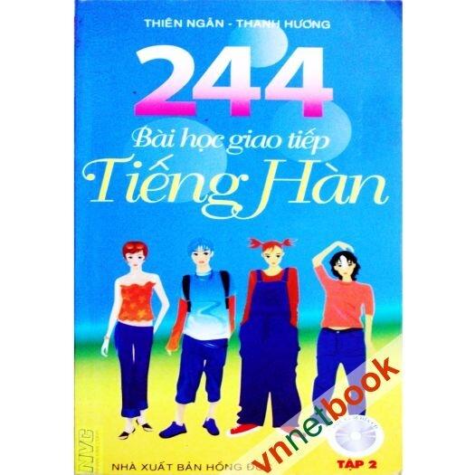 244 Bài Học Giao Tiếp Tiếng Hàn Tập 2