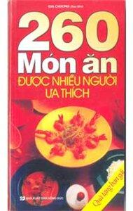 260 món ăn được nhiều người ưa thích