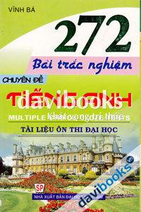 272 Bài Trắc Nghiệm Chuyên Đề Tiếng Anh