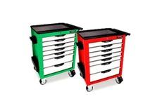 Bộ tủ dụng cụ 7 ngăn màu đỏ 180 chi tiết Toptul GV-18004