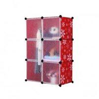 Tủ quần áo đa năng 6 ngăn Tupper Cabinet TC-6R-W2