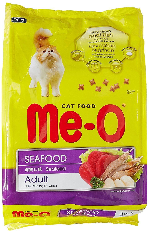 Thức ăn cho mèo Me-O vị hải sản (Seafood) - 7kg (350g x 20gói) ...