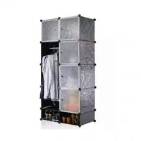 Tủ quần áo đa năng 10 ngăn Tupper Cabinet TC-10B-W1