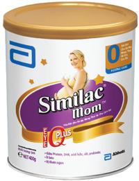Sữa bột Abbott Similac Mom IQ - hộp 900g (dành cho mẹ mang thai và cho con bú)