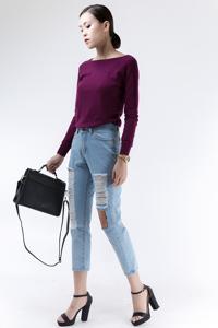 Áo len nữ 6ZAL006
