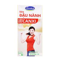 Sữa đậu nành gấp đôi canxi Vinamilk hộp 1L