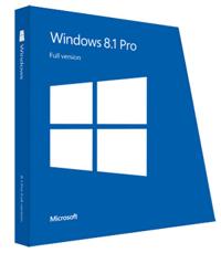 Phần mềm HĐH Microsoft Windows 8.1 Pro 64BOEI DVD
