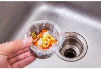 30 túi lọc rác bồn rửa chén