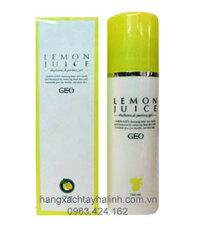 Tẩy da chết Geo Lemon Juice Rhythmical Peeling Gel 180ml