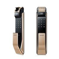 Khóa cửa vân tay Samsung SHS-P718 Gold