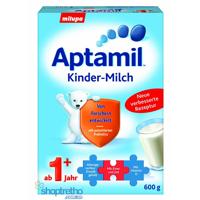 Sữa bột Aptamil 1+ Đức - hộp 600g (dành cho trẻ từ 1 tuổi trở lên)