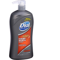 Sữa Tắm Dầu gội Dial for Men Ultimate Clean Hair Body Wash 1035L