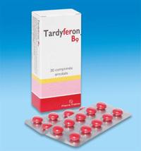 Viên uống bổ sung sắt Tardyferon B9 cho bà bầu bà bầu