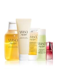 Bộ sản phẩm chăm sóc da Shiseido Waso làn da tươi mới - 95502G