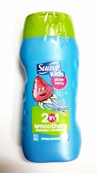 Dầu Gội Xả 2 in 1, Sữa tắm Suave Kid 355ML – USA