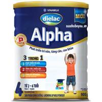 Sữa bột Dielac Alpha Step 4 - 900g
