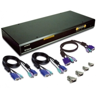 Switch D-Link DKVM-440 PS2/USB 8 Port
