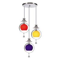Đèn thả trang trí trần in họa tiết Netviet NB 5028-3