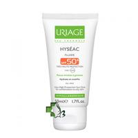 Kem chống nắng Uriage cho da dầu mụn Hyseac Fluide SPF 50+ - 50ml