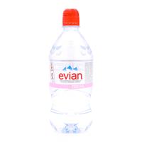 Nước khoáng đóng chai Evian chai 750ml
