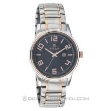 Đồng hồ dây kim loại Titan 9380KM02