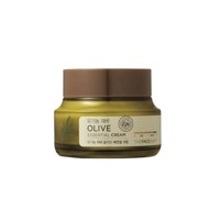 Kem dưỡng da oliu dưỡng ẩm chuyên sâu Olive Essential Cream The Face Shop