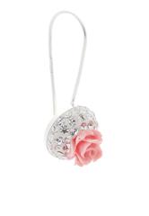 Bông tai bạc hoa hồng đính đá Cristian Lay 55097