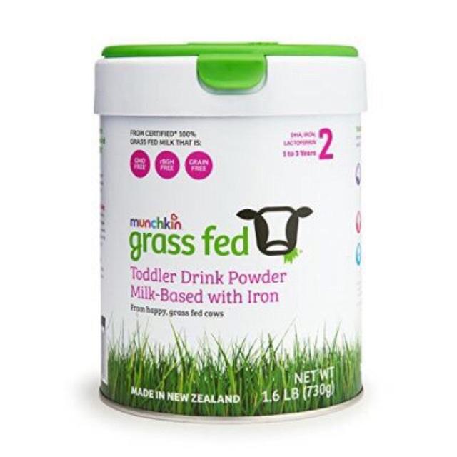 Sữa bột Munchkin Grass fed Úc số 2 - 730g, dành cho trẻ từ 6-12 tháng ...