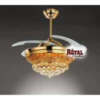 Quạt trần đèn chùm (Royal 9018)