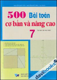 500 bài Toán cơ bản và nâng cao 7