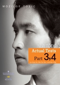 New TOEIC: Actual tests part 3,4 (Kèm 1CD) - Mozilge TOEIC