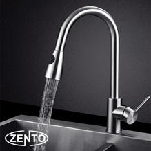 Vòi rửa bát nóng lạnh inox 304 Zento SUS5578