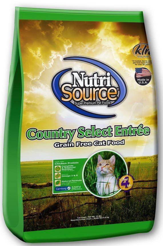 Thức ăn cho mèo NutriSource Country Select Entrée Grain Free Cat Food ...