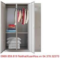 Tủ sắt quần áo Xuân Hòa LK-3N-03XH