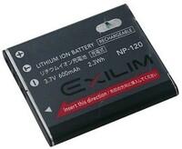 Pin máy ảnh Casio NP120