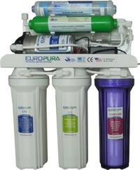 Máy lọc nước Europura EU106I (EU-106L) - Không vỏ, 6 lõi hồng ngoại
