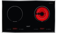 Bếp điện từ Kaff KF-FL101IC - 1 hồng ngoại, 1 điện từ, 1800W