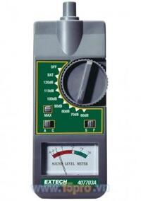Máy đo độ ồn cơ Extech 407703A, 54 - 126 dB
