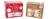 Đồ chơi cuộn nhãn dán 2 mẫu 100 cái Uncle Bills XB1015 58 x 36 mm