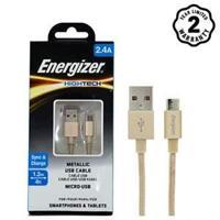 Cáp sạc Energizer Micro USB Metallic C13UBMCGGD4