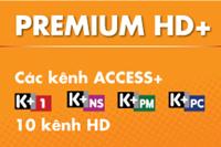 Thẻ cào Premium 12 tháng, K+