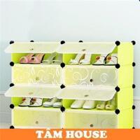 Tủ kệ nhựa lắp ghép đa năng Tâm House TN214