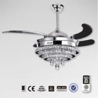 Quạt trần đèn chùm Royal CF-9800MS