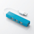 Bộ chia 4 cổng USB Elecom U2H-SN4BBU (màu xanh dương)