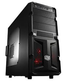 Case Cooler Master Gaming K281 Dual USB3 Dual Rear Fan Led Front (RC-K...